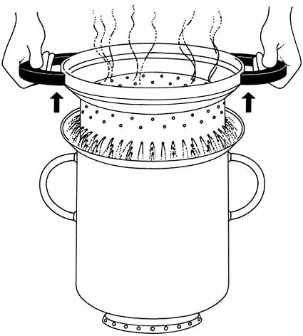 Alessi 9092 Fm Pasta Set Pasta-set en Acier Inoxydable 18/10 Brillant, Fond Thermodiffuseur Magnétique