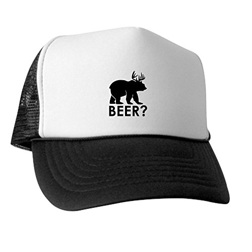 truly-teague-trucker-hat-baseball-cap-deer-plus-bear-equals-beer-red-white-and-blue