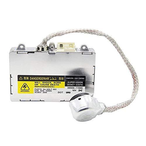 - KDLT002 DDLT002 Xenon HID Ballast Headlight Control Unit for Module Lexus Toyota Mazda Lincoln Porsche Land Rover Replace # 85967-50020, 85967-33010, 85967-30050