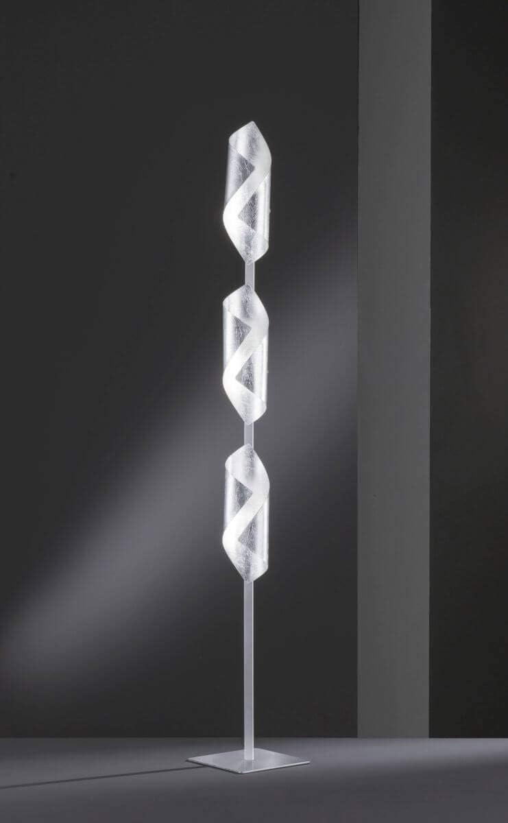 Argento Lampada da terra Wofi 3325.03.70.8000 Safira colore
