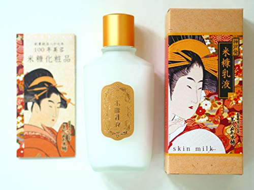 100 year komenuka bijin Rice Bran Skin Milk 100mL(ukiyoe package) Made in Japan