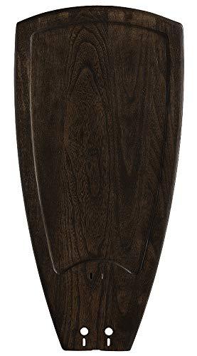 Fanimation B5214WA 52-Inch Sweep Single Side Carved Wood Blades for Islander, Set of ()