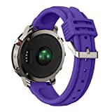 Festwolf Silicone Soft Watch Strap Sports Outdoors Wristband For Garmin Fenix Chronos GPS Watch