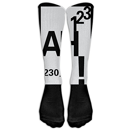 Unisex Knee High Long Socks Ah The Element Of Surprise Funny Geek Science School Uniform High Long Stockings ZHONGJIAN