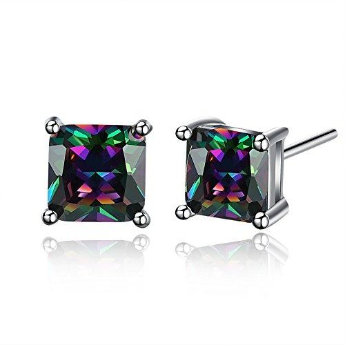 Multicolor Zirconia Earrings Jewelry Mothers