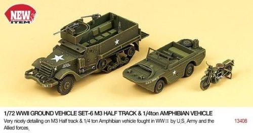1/72 M3 Half Track/Amphibian