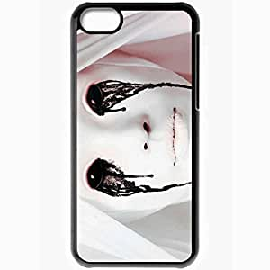Personalized iPhone 5C Cell phone Case/Cover Skin American Horror Story Wallpaper Movie Black