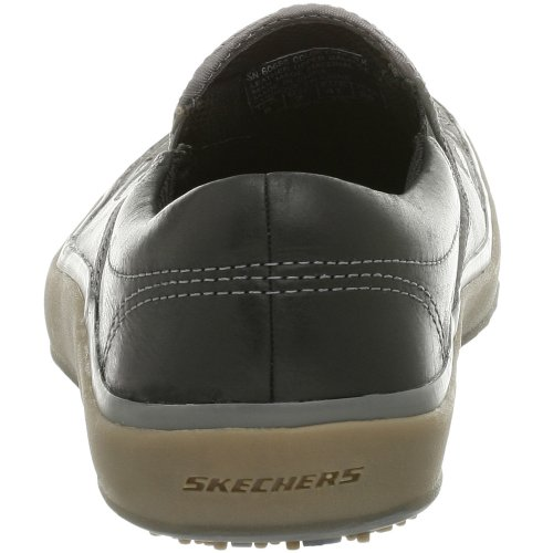 Skechers, Mocassini donna bronzo Black Taglia unica
