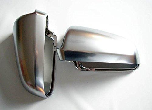 Aluminium Design Spiegel Abdeckung Kappe Geh/äuse Links+Rechts Set