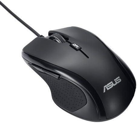 Asus 90-XB2P00MU0000 - Ratón ergonómico, USB, Negro