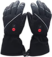 Heated Gloves Electric Rechargeable Battery - Savior Heating Ski Motorcycle Gloves Men Women Snowboarding Hunt