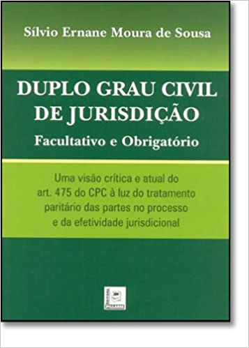 Book Duplo Grau Civil de Jurisdicao - Facultativo e Obrigatorio