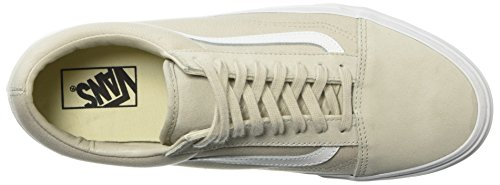 Suiting Old Lining Vans Silver Trainers White Skool Unisex Adults' Beige Q75 True 8AZqZnxw