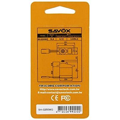 Savox SH-0255MG Micro Metal Gear Digital Servo: Toys & Games