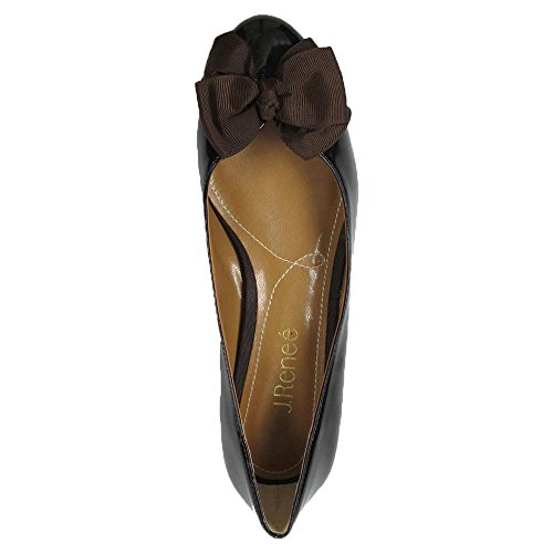J Synthetic Chocolate Classic Closed Cameo Womens Toe renee Pumps rUHwFr