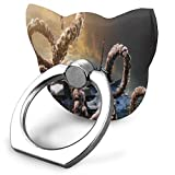 Ring Holder Creature Dark Fantasy Ocean Cat Type Ring Cell Phone Stand Adjustable