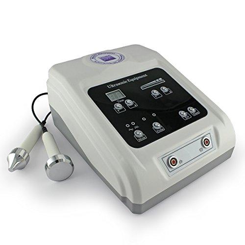 Forever25 Kosmetisches Hochwertiges Ultraschall Geraet für Koerper, Augen und Gesicht Anti Falten Antiaging Cellulitis Lifting Massage Schoenheit Ultraschallgerät