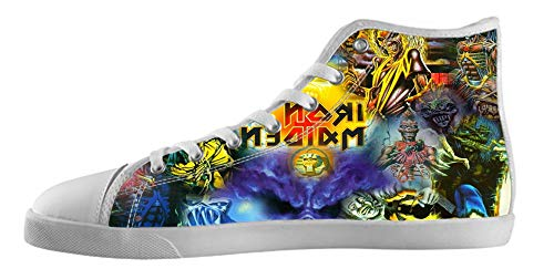 Men band Canvas style White3 Shoes High style for Top rock Canvas band Men's Shoes rock MENS KJLJ 0wvZqfv