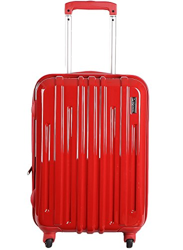 - Diplomat Simple Luggage Trolley Case Expandable Spinner Suitcase, Red 19 Inch TC-1462