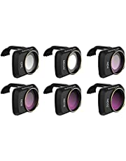 Hensych Camera Lens Filter voor Mavic Mini/Mini 2/Mini SE Drone, MCUV CPL ND NDPL Filter Hoge Zendbaarheid Geïntegreerde Modeling Frame, MCUV+CPL+ND4+ND8+ND16+ND32
