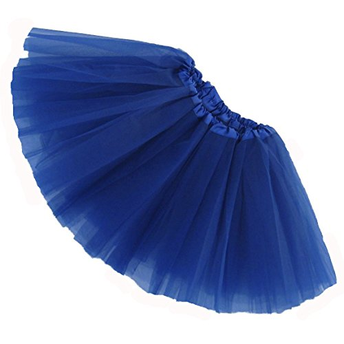 Southern Wrag Company GIRLS Ballet Tutu Waist 16-32 Length 11in (ROYAL BLUE)