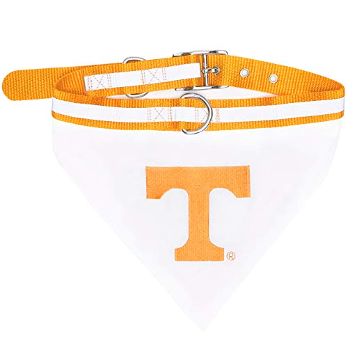 - Pets First Collegiate Pet Accessories, Collar Bandana, Tennessee Volunteers, Large