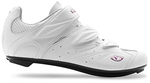 Giro 2017 Womens Sante II Road Cycling Shoes (Matte White/Gloss White - 36)