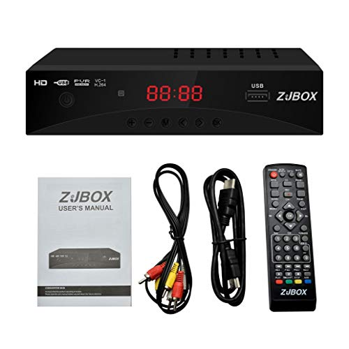 Check Out This Digital TV Converter Box, ATSC Cabal Box - ZJBOX for Analog HDTV Live1080P with PVR R...