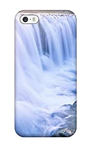 Iphone 5/5s Case Cover - Slim Fit Tpu Protector Shock Absorbent Case (earth Water Background Desktop Background)