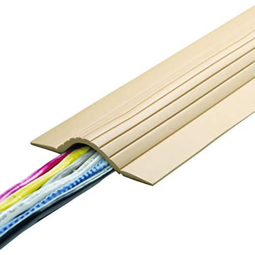 UT Wire UTW-CPL5-BG 5' Cable Blanket Low Profile Cord Cover and Protector, Beige