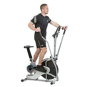 Oribtrack EB8109 Cross Trainer 2-en-1 bicicleta elíptica Fitness Cardio