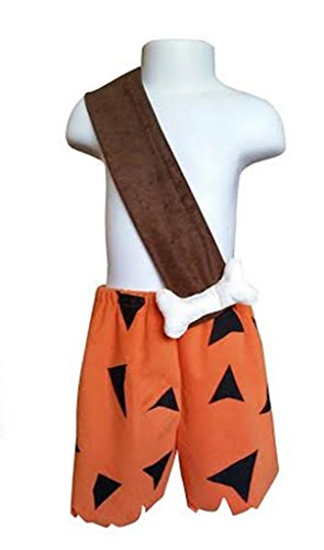Flintstones Costumes Halloween The (Perfect Pairz Pebbles and Bamm Bamm Halloween Coordinates-Sold)