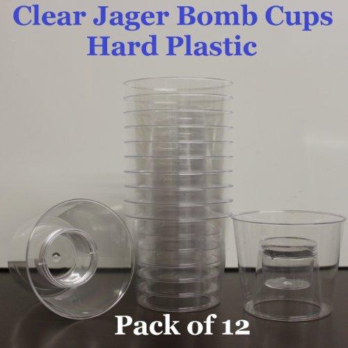 Plastic Bomber Blaster Glasses Clear product image