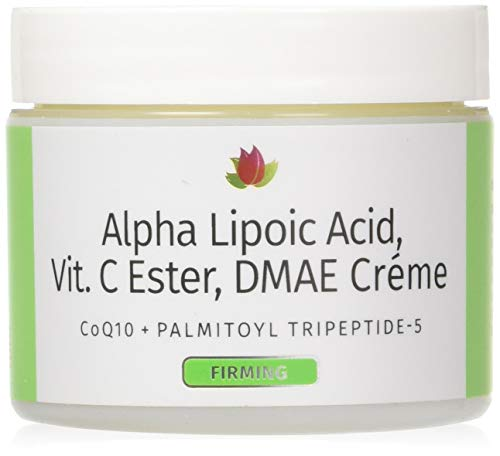 Reviva Labs Alpha Lipoic Acid Vitamin C Ester and DMAE Cream -- 2 ()