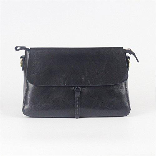 GWQGZ Bolso Diagonal De La Moda Bolso Salvaje Casual De La Tendencia Multiusos Black