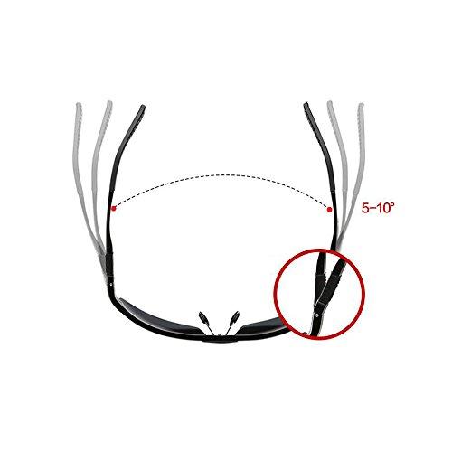 Gafas Deporte De Color Gafa Reflejante Sol De Sol Polarizados Conducción Gafas YQQ 5 Hombre Gafas Moda Gafas De Playa De Vidrios Anti 2 xzdR8Tqtw