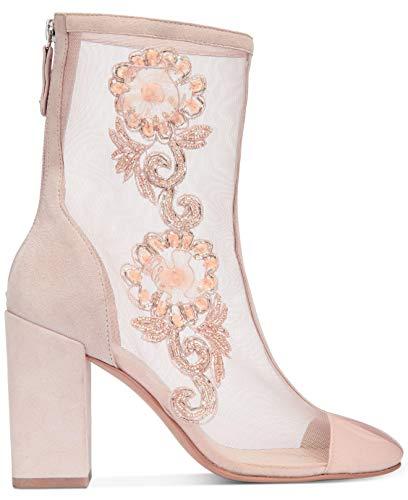 Avec Les Filles Womens Reagan Closed Toe Mid-Calf Fashion Boots, Pink, Size 6.0