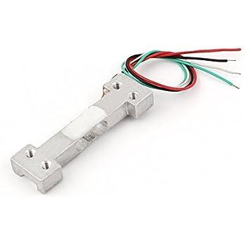 eDealMax 150 g de aleación de aluminio Rectangular balanza de cocina Sensor de pesaje de la celda de carga