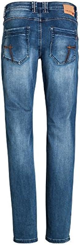 Timezone Męskie dżinsy Eduardo Slim: Odzież