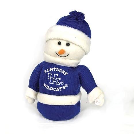 Amazon Com 9 Ncaa Kentucky Wildcats Plush Animated Musical Snowman