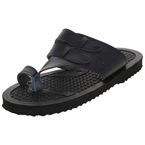 Lakhani Men's Synthetic Leather Athletic & Outdoor Sandals