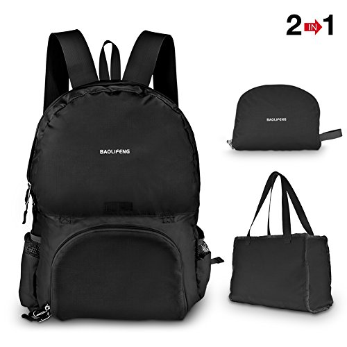 Lightweight Durable Backpack Foldable Tote Bag ...