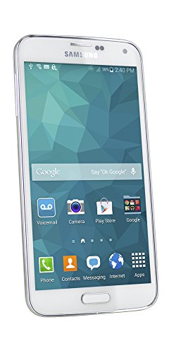FreedomPop Samsung Galaxy S5 LTE – White – No Contract (Certified Refurbished)