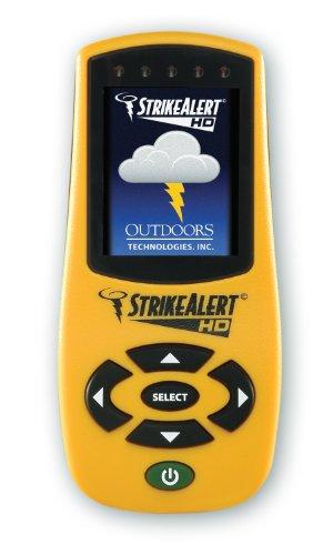 Strike Alert HD Lightning Detector Yellow
