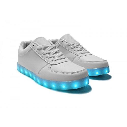 Calzado LED para niño, modelo ORIGINAL-Patinete 7 colores ...