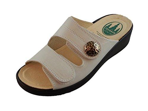 Franken-schuhe Womens Sandal -fransizka White White