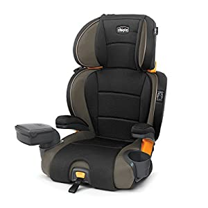 Chicco KidFit Zip 2-in-1 Belt Positioning Booster Car Seat,...