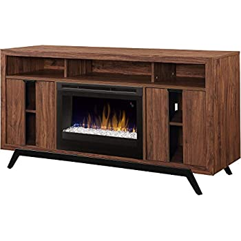 Dimplex luna media console fireplace with - Going to bed with embers in fireplace ...