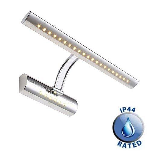 Aplique LED de 7w para baño y oficina Dailyart, luz blanca cálida