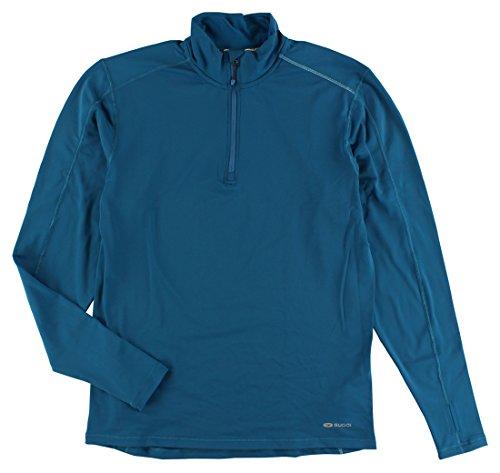 Sugoi MidZero Zip Top - Men's Baltic Blue (Sugoi Midzero Zip Shirt)
